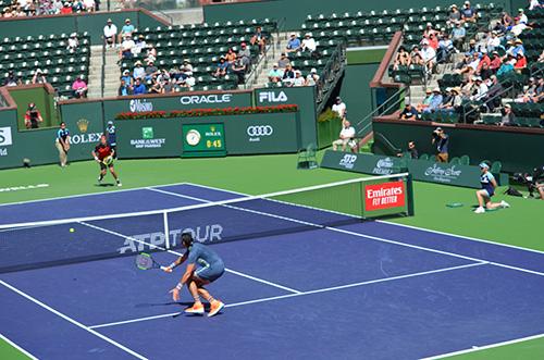 more racquet head up