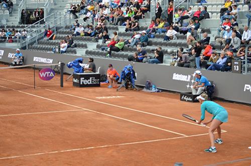 racquet position