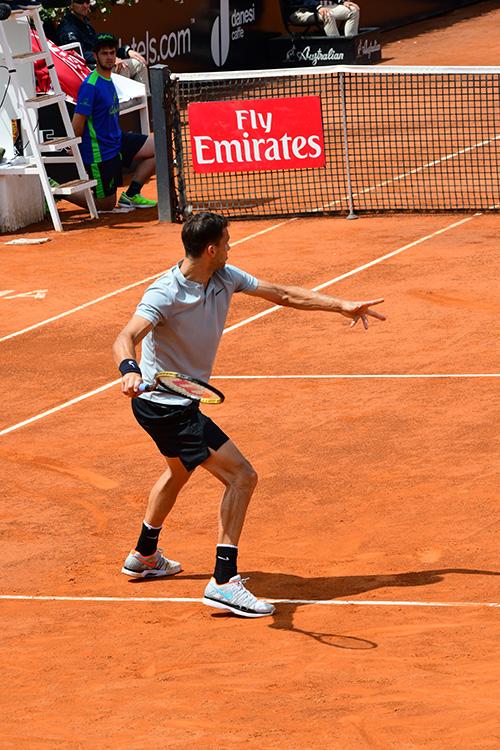 curl the racquet