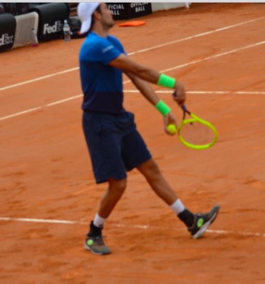 racquet face up